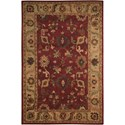 "Nourison Tahoe 5'6"" x 8'6"" Red Rectangle Rug - Item Number: TA08 RED 56X86"