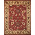 """Nourison Tahoe 7'9"""" x 9'9"""" Red Rectangle Rug - Item Number: TA08 RED 79X99"""