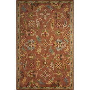 "Nourison Tahoe 3'9"" x 5'9"" Penny Rectangle Rug"