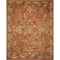 """Nourison Tahoe 7'9"""" x 9'9"""" Penny Rectangle Rug - Item Number: TA13 PENNY 79X99"""