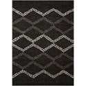 Nourison Tangier 8' x 10' Black Rectangle Rug - Item Number: TAN01 BLK 8X10
