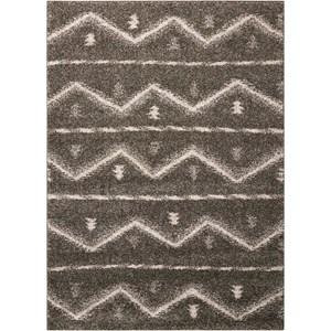 5' x 7' Grey Rectangle Rug