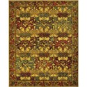 "Nourison Timeless 5'6"" x 8' Stained Glass Area Rug - Item Number: 21017"