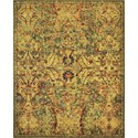 "Nourison Timeless 7'9"" x 9'9"" Olive Area Rug - Item Number: 21029"