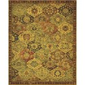 "Nourison Timeless 7'9"" x 9'9"" Multicolor Area Rug - Item Number: 21034"