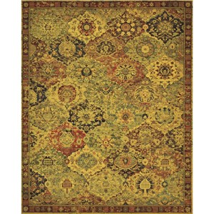 "Nourison Timeless 9'9"" x 13' Multicolor Area Rug"