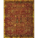 "Nourison Timeless 9'9"" x 13' Scarlet Area Rug - Item Number: 21042"