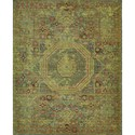 "Nourison Timeless 5'6"" x 8' Teal Area Rug - Item Number: 21069"