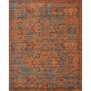 "Nourison Timeless 9'9"" x 13' Teal Area Rug"