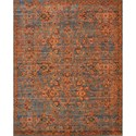 "Nourison Timeless 9'9"" x 13' Teal Area Rug - Item Number: 21079"