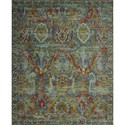 "Nourison Timeless 7'9"" x 9'9"" Turquoise Area Rug - Item Number: 21082"