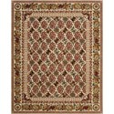 "Nourison Timeless 7'9"" x 9'9"" Multicolor Area Rug - Item Number: 22254"