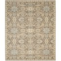 "Nourison Timeless 7'9"" x 9'9"" Mocha Area Rug - Item Number: 25634"