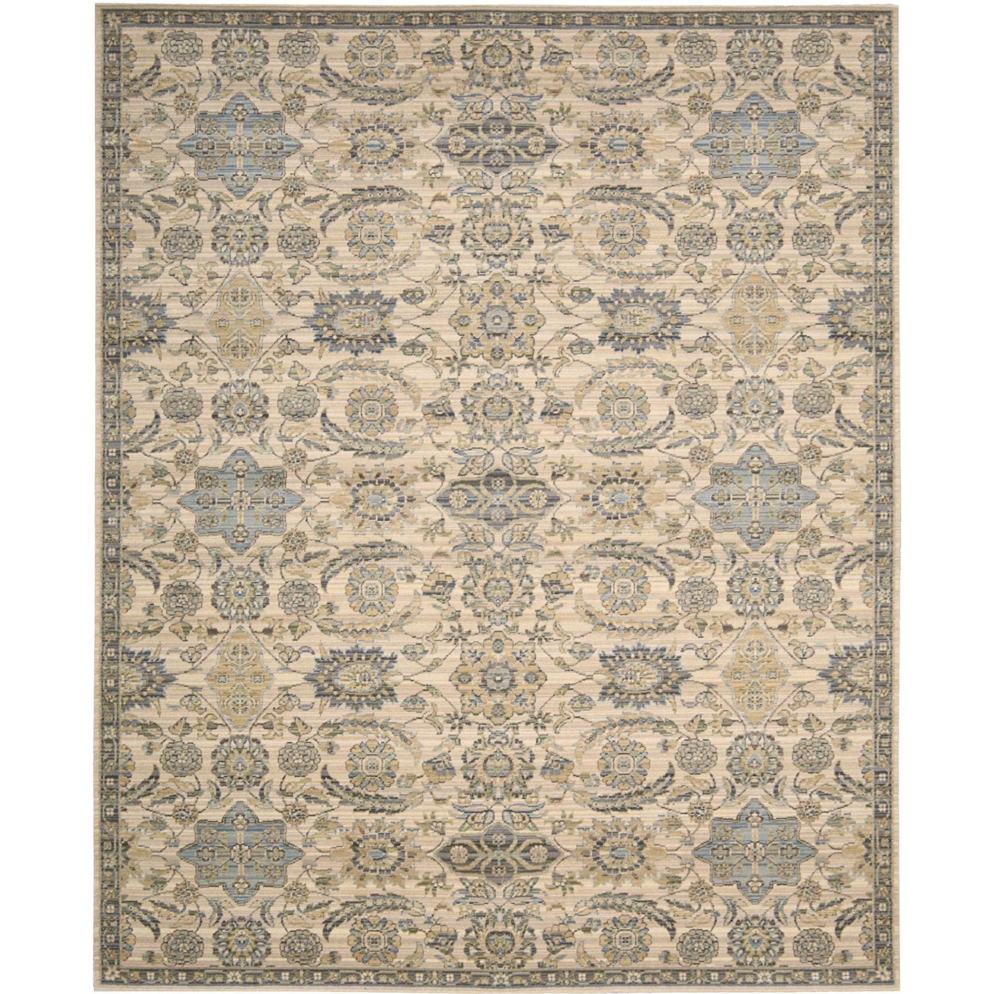 "Nourison Timeless 9'9"" x 13' Beige Area Rug - Item Number: 25641"