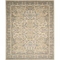 "Nourison Timeless 7'9"" x 9'9"" Beige Area Rug - Item Number: 25650"