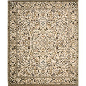 "Nourison Timeless 9'9"" x 13' Copper Area Rug"
