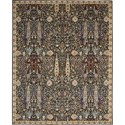 "Nourison Timeless 9'9"" x 13' Navy Area Rug - Item Number: 27428"