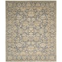 "Nourison Timeless 9'9"" x 13' Opal Grey Area Rug - Item Number: 27436"