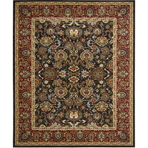 "Nourison Timeless 9'9"" x 13' Navy Area Rug"
