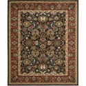 Nourison Timeless 12' x 15' Navy Area Rug - Item Number: 30038