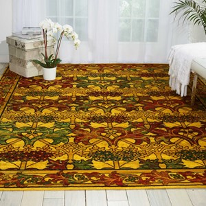 12' x 15' Stained Glass Rectangle Rug