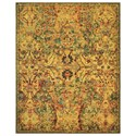 "Nourison Timeless 9'9"" x 13' Olive Rectangle Rug - Item Number: TML02 OLIVE 99X13"