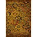 """Nourison Timeless 5'6"""" x 8' Multicolor Rectangle Rug - Item Number: TML03 MTC 56X8"""