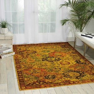 "Nourison Timeless 7'9"" x 9'9"" Multicolor Rectangle Rug"