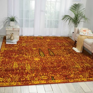 Nourison Timeless 12' x 15' Scarlet Rectangle Rug