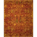 "Nourison Timeless 9'9"" x 13' Scarlet Rectangle Rug - Item Number: TML04 SCARL 99X13"