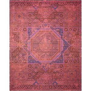 "Nourison Timeless 7'9"" x 9'9"" Blush Rectangle Rug"