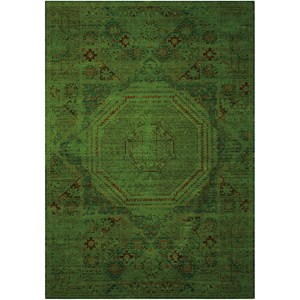 Nourison Timeless 12' x 15' Teal Rectangle Rug