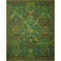 "Nourison Timeless 8'6"" x 11'6"" Seaglass Rectangle Rug - Item Number: TML10 SEAGL 86X116"