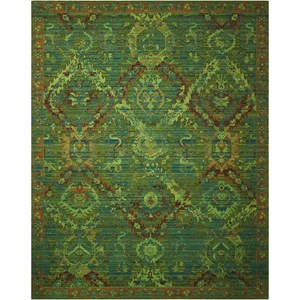 "Nourison Timeless 9'9"" x 13' Seaglass Rectangle Rug"