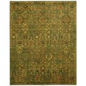 "Nourison Timeless 7'9"" x 9'9"" Green Gold Rectangle Rug - Item Number: TML11 GREGD 79X99"