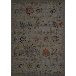 "Nourison Timeless 8'6"" x 11'6"" Taupe Rectangle Rug"