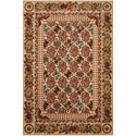 "Nourison Timeless 7'9"" x 9'9"" Multicolor Rectangle Rug - Item Number: TML13 MTC 79X99"