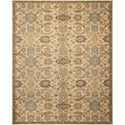 "Nourison Timeless 5'6"" x 8' Beige Rectangle Rug - Item Number: TML14 BGE 56X8"