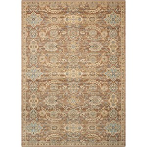 "Nourison Timeless 7'9"" x 9'9"" Mocha Rectangle Rug"