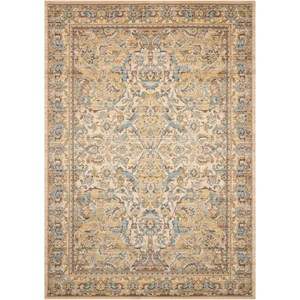 Nourison Timeless 12' x 15' Beige Rectangle Rug