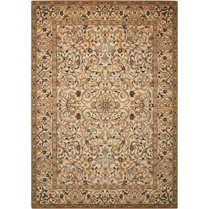 "Nourison Timeless 5'6"" x 8' Copper Rectangle Rug"