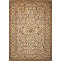 "Nourison Timeless 5'6"" x 8' Copper Rectangle Rug - Item Number: TML16 COP 56X8"