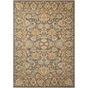 "Nourison Timeless 5'6"" x 8' Opal/Grey Rectangle Rug - Item Number: TML20 OPLGY 56X8"