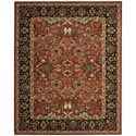 """Nourison Timeless 5'6"""" x 8' Persimmon Rectangle Rug - Item Number: TML20 PER 56X8"""