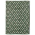 "Nourison Tranquility 3'9"" x 5'9"" Light Green Rectangle Rug - Item Number: TNQ01 LTG 39X59"