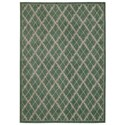 "Nourison Tranquility 9'3"" x 12'9"" Light Green Rectangle Rug - Item Number: TNQ01 LTG 93X129"
