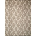"Nourison Tranquility 9'3"" x 12'9"" Taupe Rectangle Rug - Item Number: TNQ02 TAU 93X129"