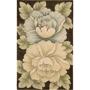 Nourison Tropics 8' x 11' Brown Area Rug
