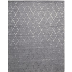 "Nourison Twilight 8'6"" x 11'6"" Grey Area Rug"