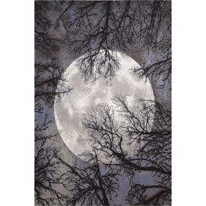 "Nourison Twilight 5'6"" x 8' Moon Area Rug"